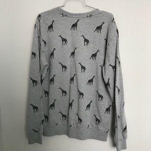 Forever 21 Sweaters - Forever 21 Men's giraffe pullover sweater